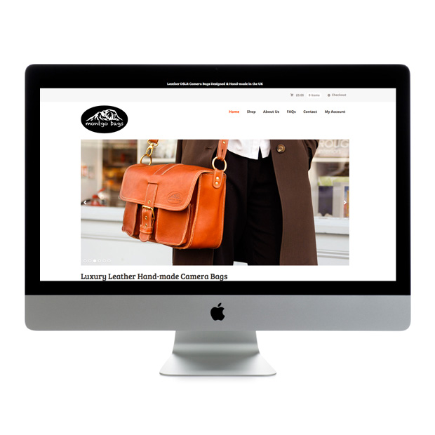 Web Design Wandsworth Montgo Bags