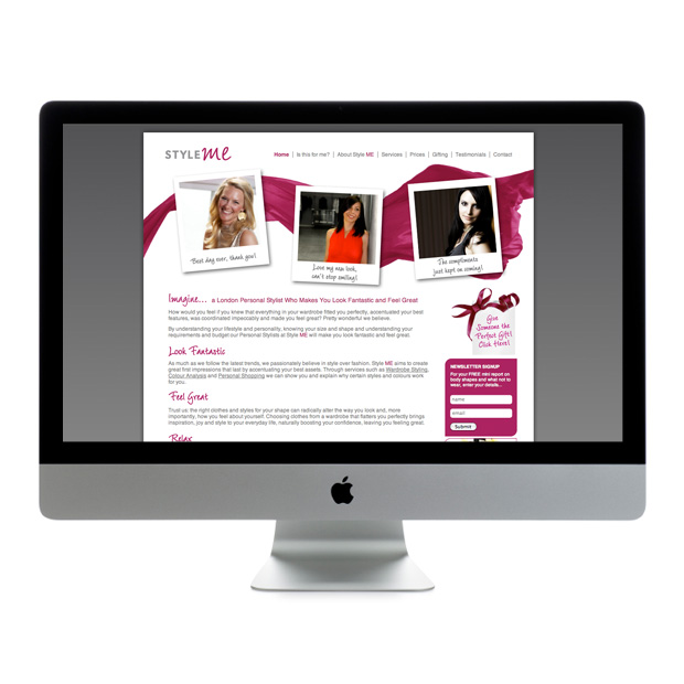 Web Design Wandsworth Style Me