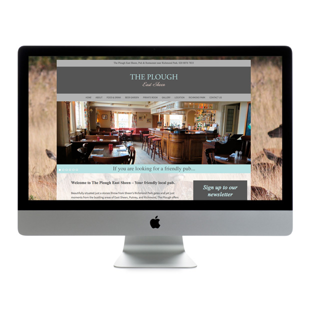 Web Design Wandsworth The Plough