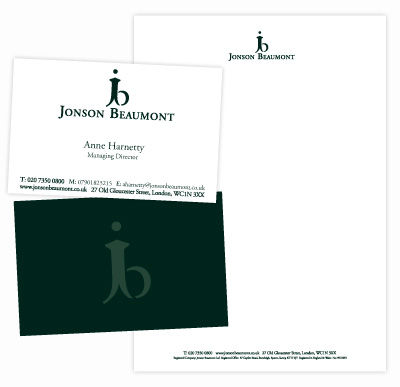 Logo Design Wandsworth Jonson Beaumont Logo