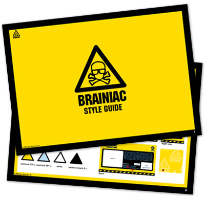 Style Guide Design London Brainiac