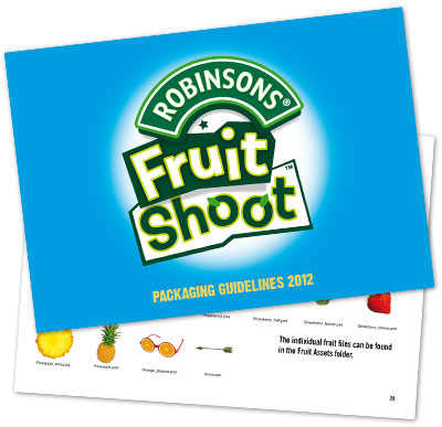 Style Guide Design London Fruit Shoot