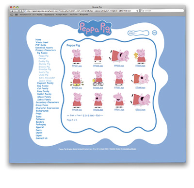 Style Guide Design London Peppa Pig