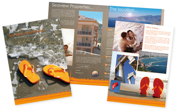 Seaview Properties Brochure Design