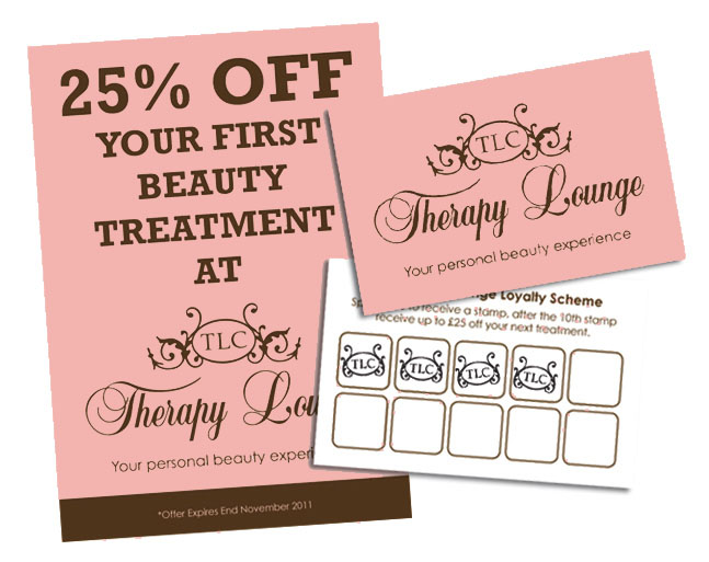TLC Therapy Lounge - Flyers & Vouchers