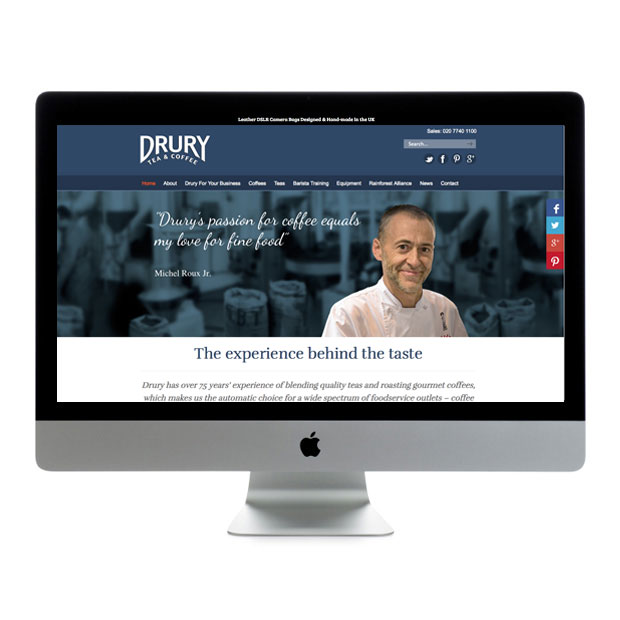 Web Design Wandsworth Drury Coffee